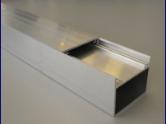 Aluminiumquerriegel mit Abdeckclip