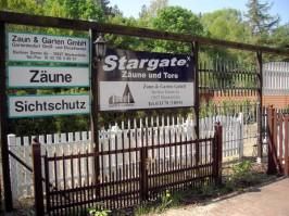 Zaun Ausstellung in Blankenfelde