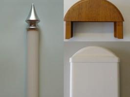 Profile Kunststoffzäune