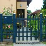 Gartentür Strasbourg mit Zwischenstäben, Stargate Aluminiumzaun