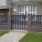 Zaun Typ Dijon mit Gartentor von Stargate-Zäune