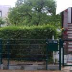 Gartentür für Doppelstabmatte Fabrikat Stargate-Zaun