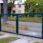 Gartentor für Doppelstabmattenzaun Hersteller Stargate-Zaun